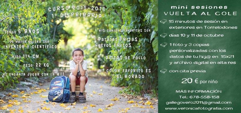VUELTA AL COLE 2015-16